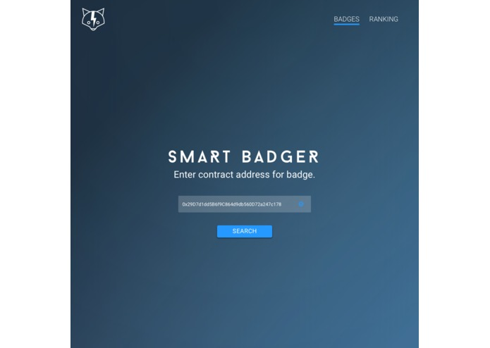 SmartBadger – screenshot 2