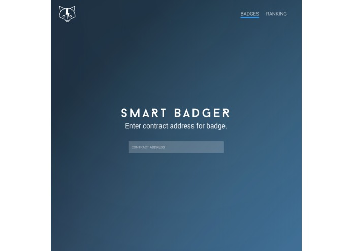 SmartBadger – screenshot 1