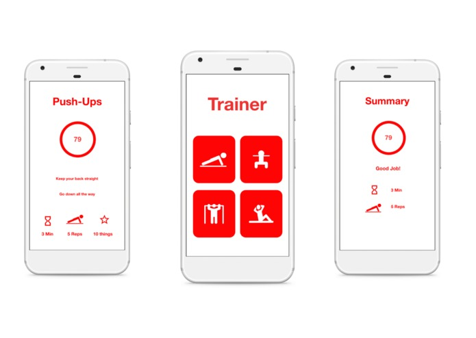 trAIner – screenshot 3