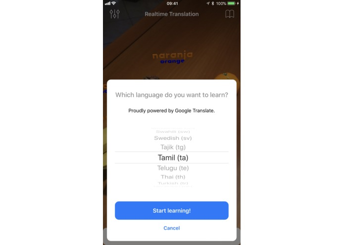 TranslateAR – screenshot 3