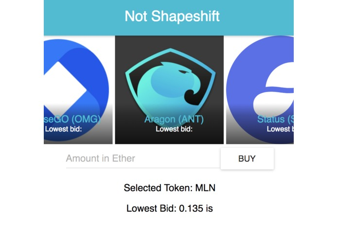Not Shapeshift – screenshot 1
