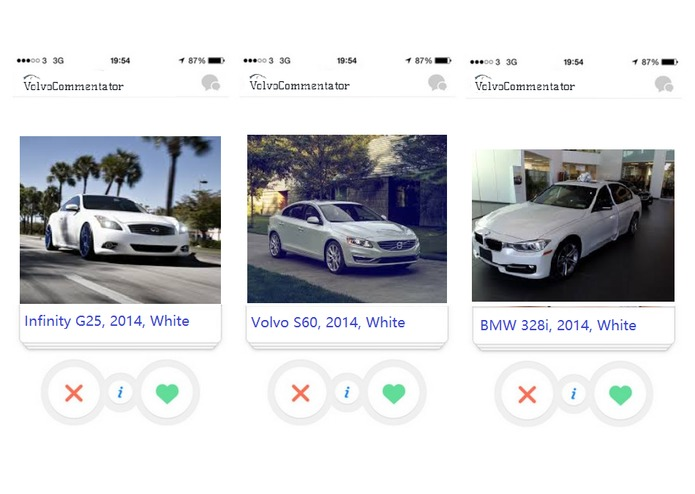 Gamified Car Sharing Solution for the Volvo Challenge  – screenshot 4