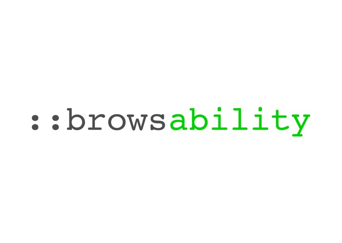 browsability – screenshot 1