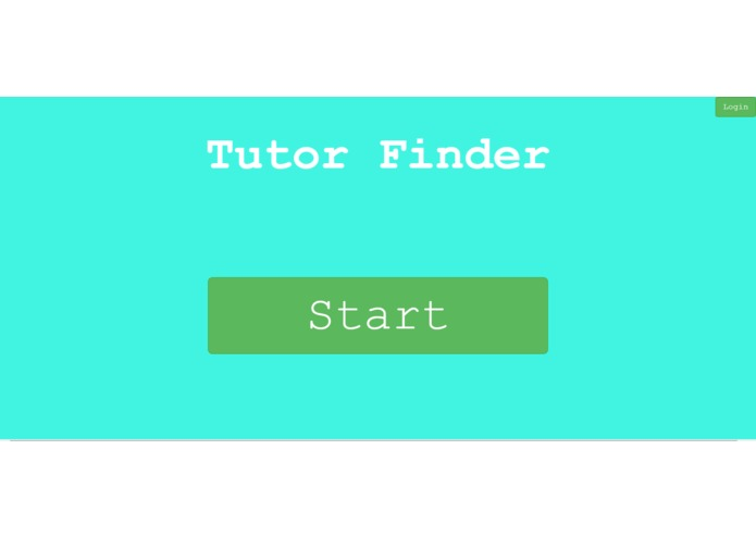 Tutor Finder – screenshot 1