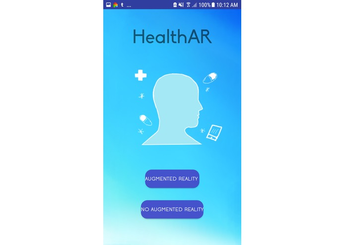 HealthAR – screenshot 1