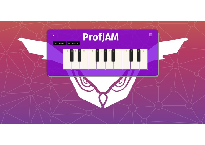 ProfJAM – screenshot 1