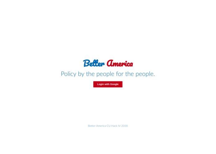Better America – screenshot 2