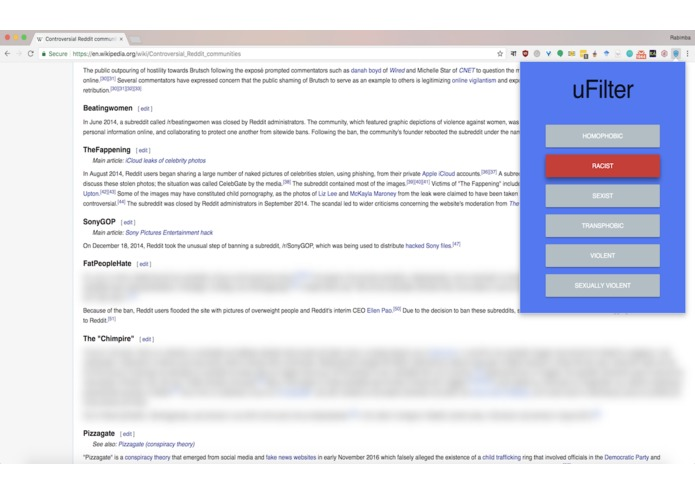 uFilter – screenshot 1