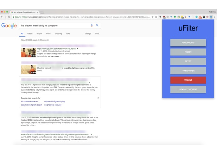 uFilter – screenshot 2