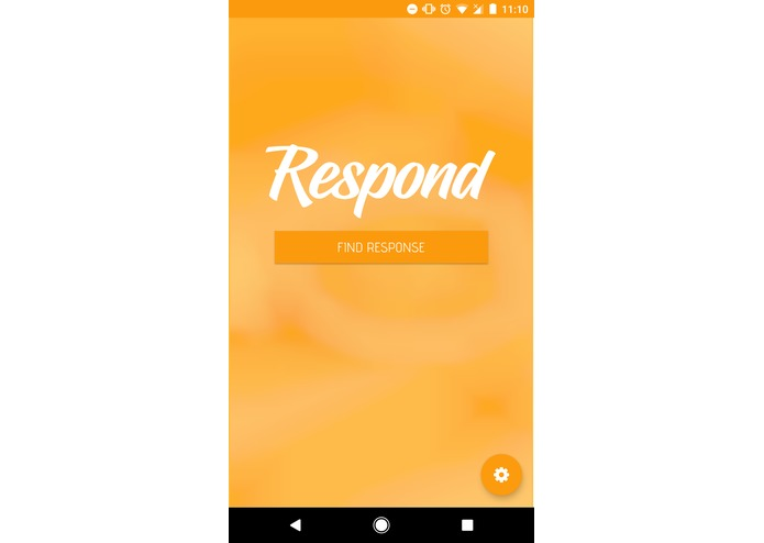 Respond – screenshot 1