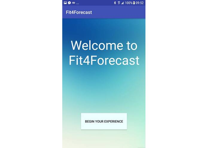 Fit4Forecast – screenshot 2