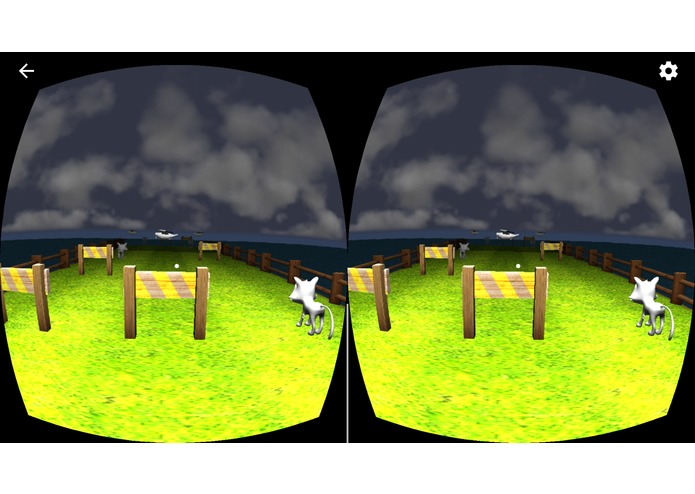 Kitten Run VR – screenshot 1