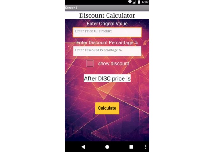 DiscountCalculatorPro – screenshot 1