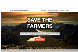 Intelligent Smart Contracts to save Farming