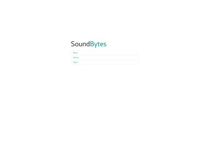 Sound Bytes – screenshot 2