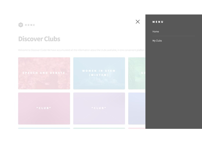 Discover clubs – screenshot 1