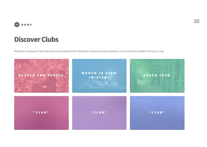 Discover clubs – screenshot 2