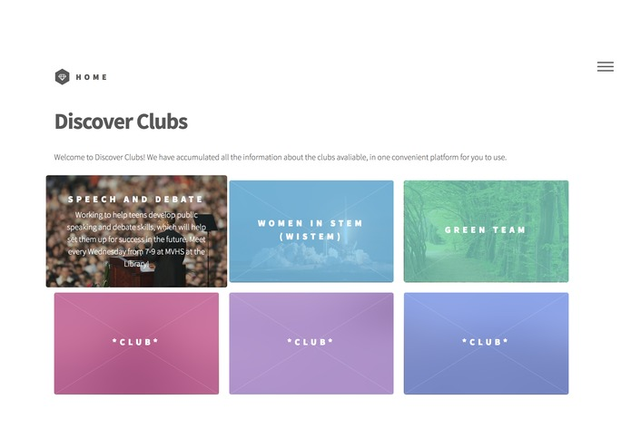 Discover clubs – screenshot 3
