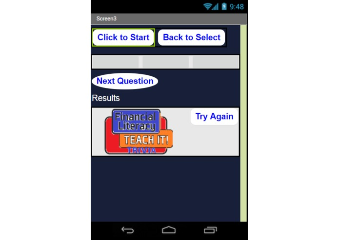 Financial Literacy Trivia App – screenshot 5