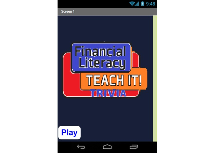 Financial Literacy Trivia App – screenshot 1