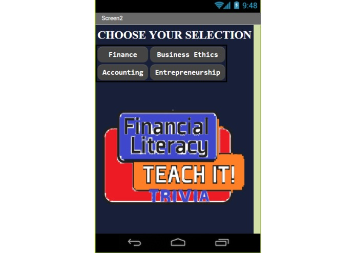 Financial Literacy Trivia App – screenshot 3