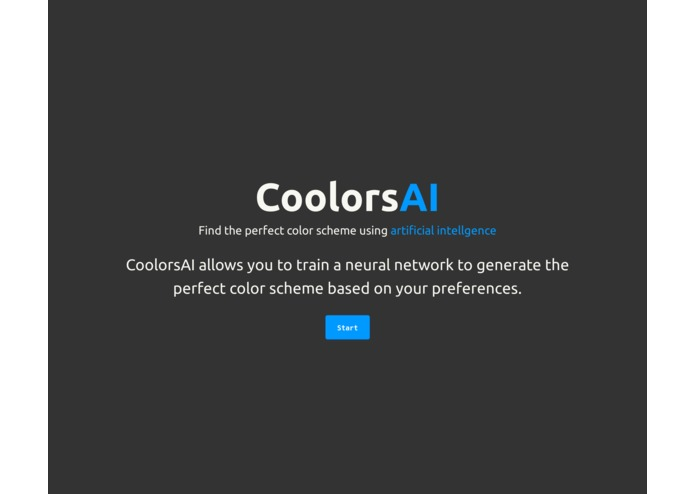 CoolorsAI – screenshot 1