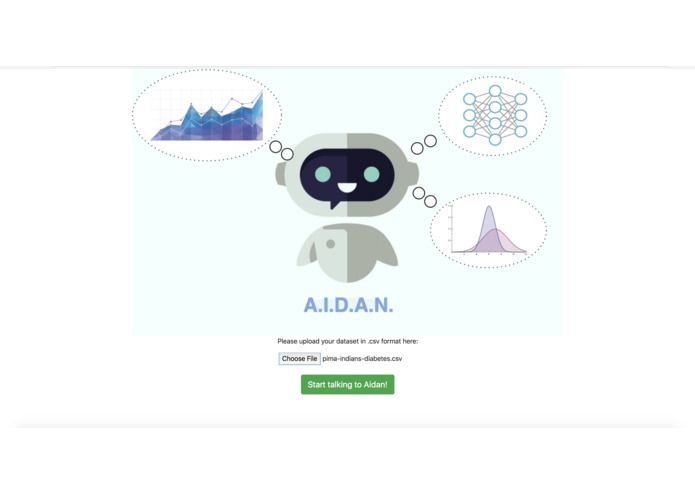 "A.I.D.A.N.— A.I. and Data Analysis, ""Now!"" – screenshot 1"