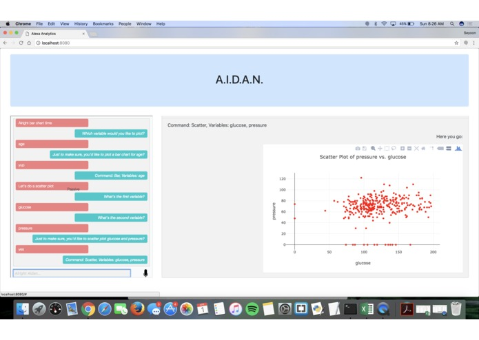 "A.I.D.A.N.— A.I. and Data Analysis, ""Now!"" – screenshot 5"