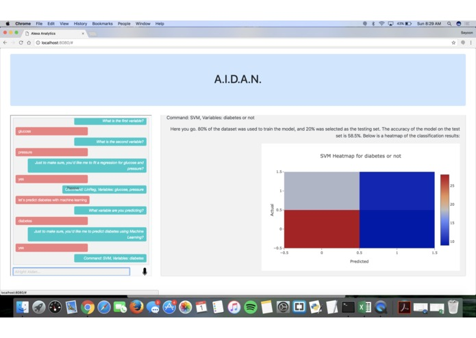 "A.I.D.A.N.— A.I. and Data Analysis, ""Now!"" – screenshot 8"