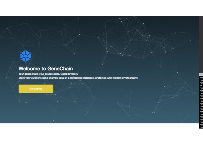 GeneChain – screenshot 1