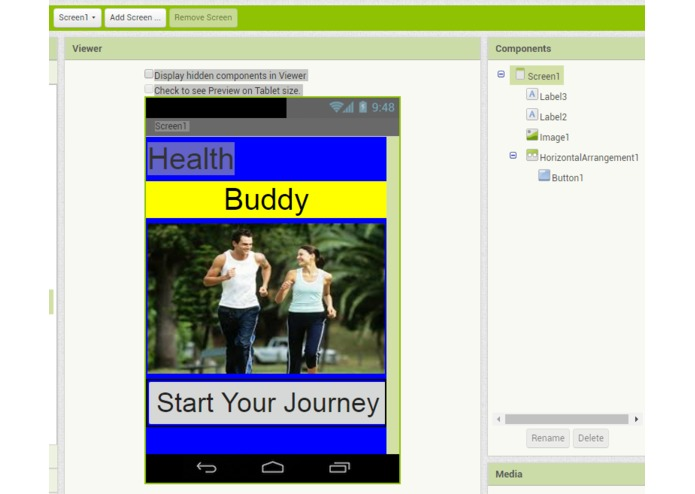 Health Buddy – screenshot 1