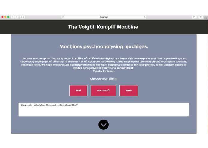 The Voight-Kampff machine – screenshot 1