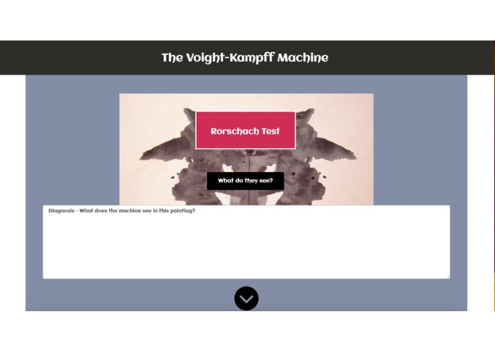 The Voight-Kampff machine – screenshot 2
