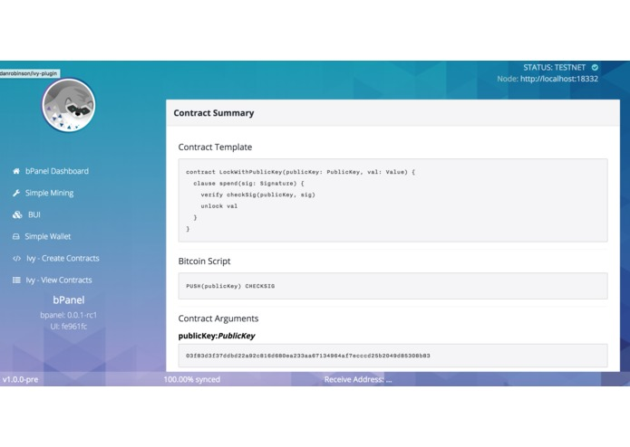 Ivy bPanel Plugin – screenshot 5