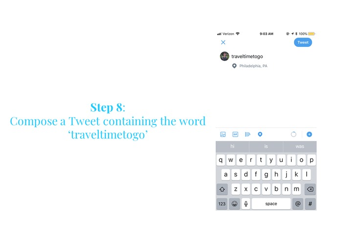 Travel Time Tweets  - A2 – screenshot 9