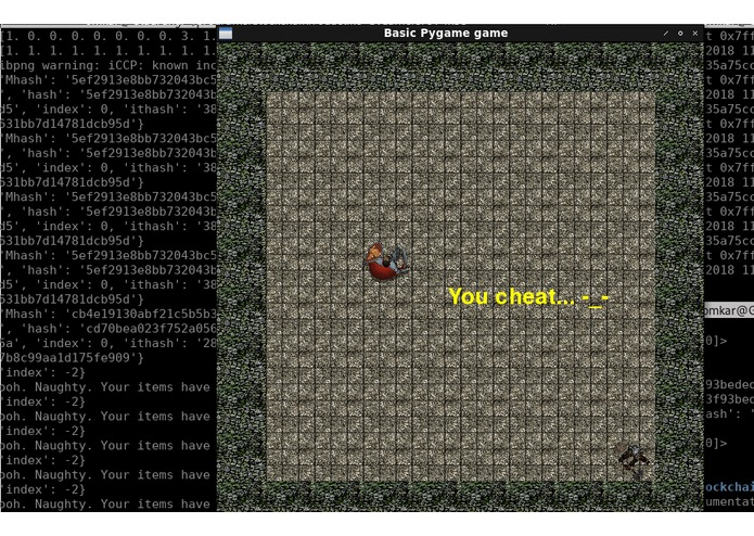 blockchain_roguelike – screenshot 1
