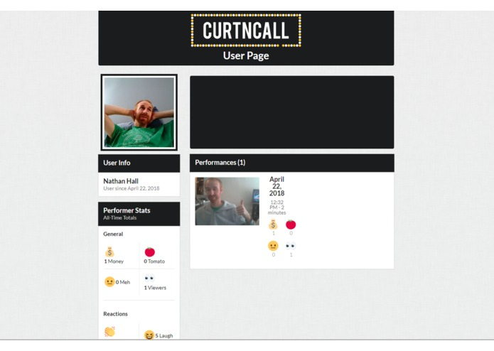 CurtnCall – screenshot 3