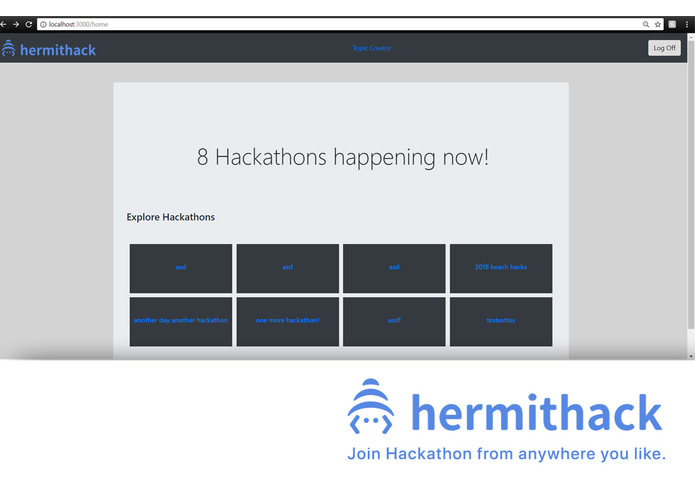 Hermithack – screenshot 1