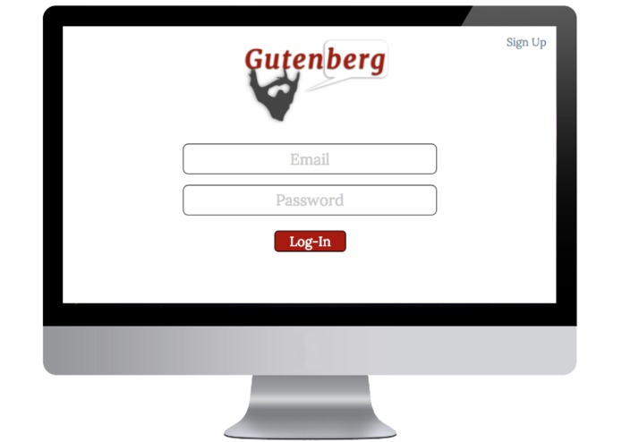 Gutenberg – screenshot 1