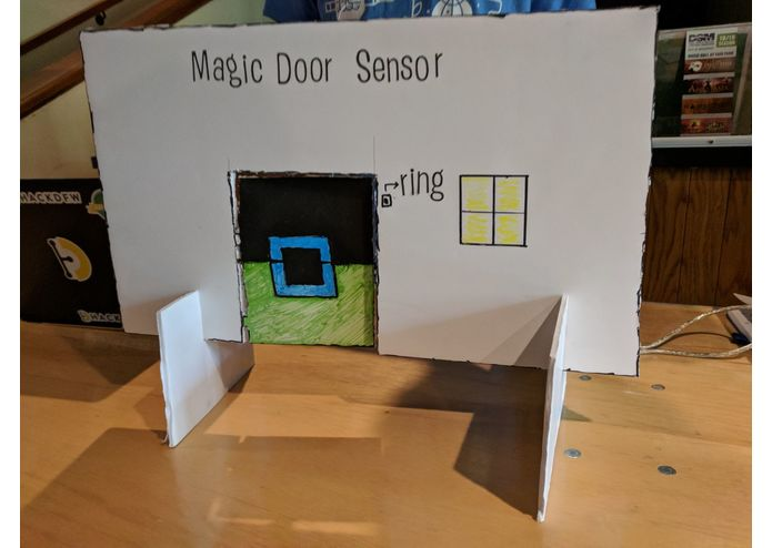 Magic door sensor – screenshot 1