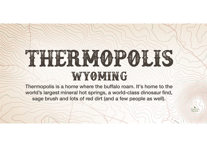 Map: Thermopolis, Wyoming – screenshot 2