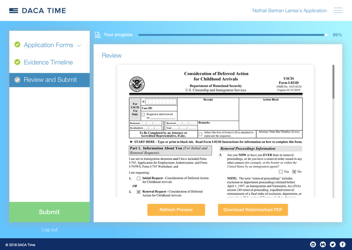 DACA Time – screenshot 9