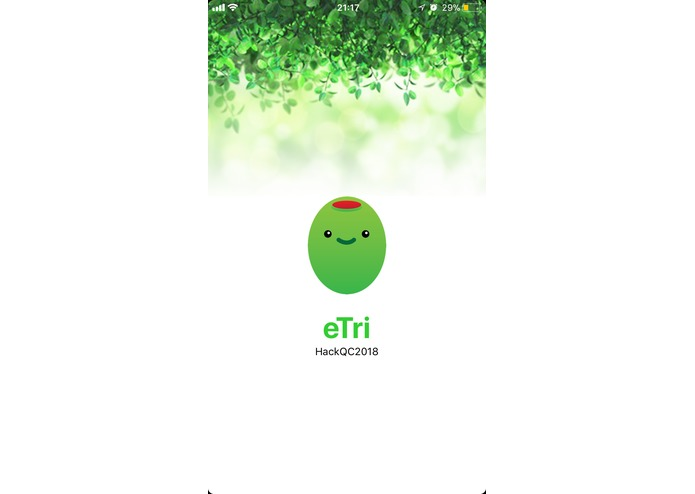 eTRI – screenshot 4
