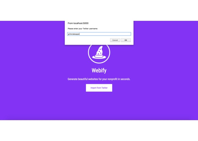 Webify – screenshot 3
