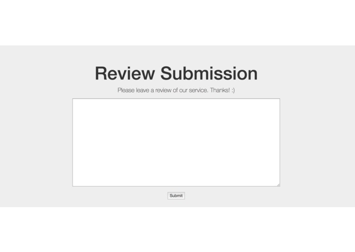 sentimentalReviews – screenshot 1