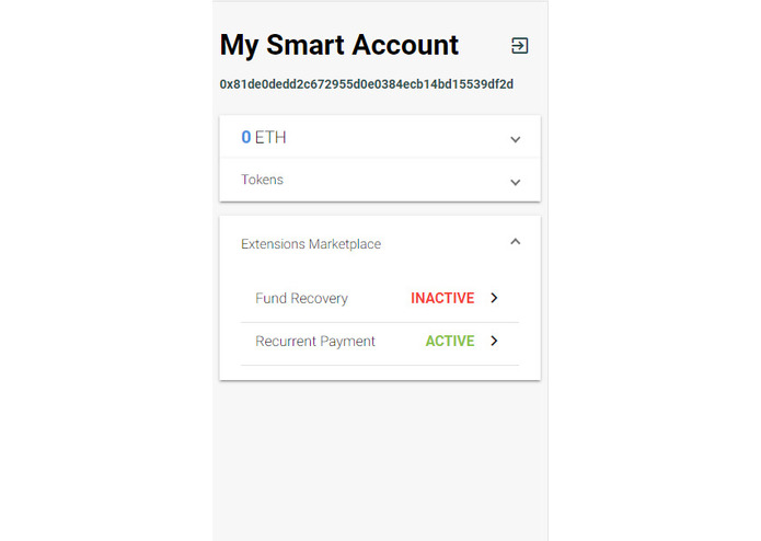 My Smart Account – screenshot 2