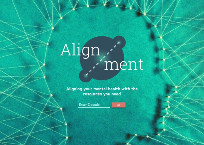 The Mental Health Directory / Alignment – screenshot 1