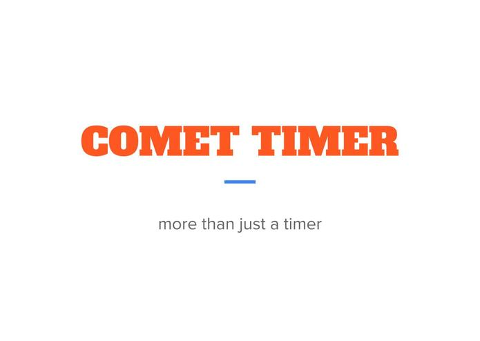 Comet Timer – screenshot 1