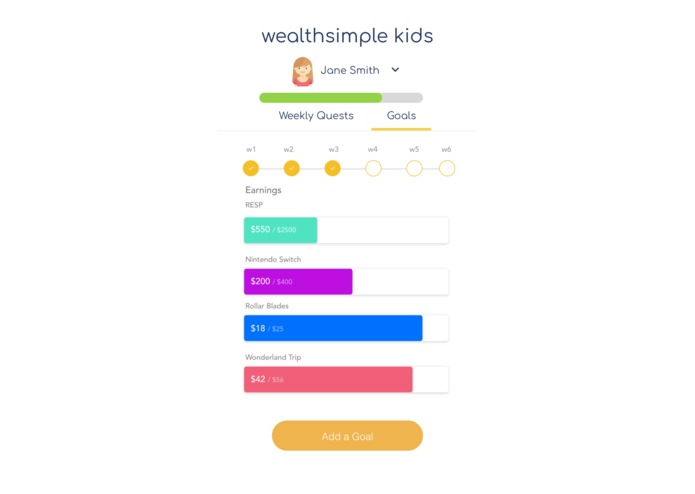 Wealthsimple Kids – screenshot 3