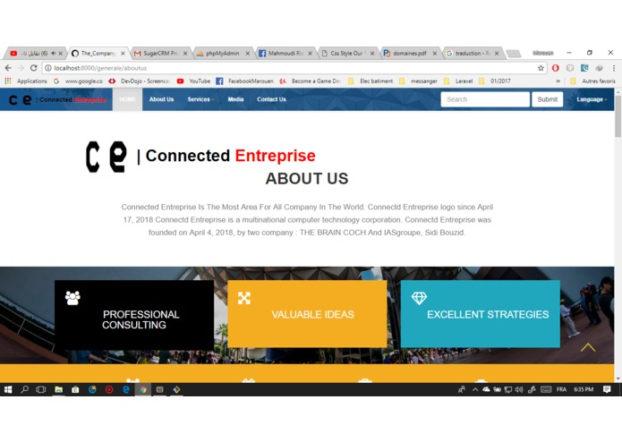 connected-entreprise – screenshot 1